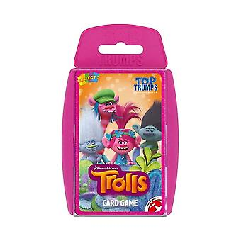Trolls Top Trumps Game