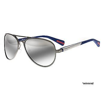 Rasse-Dorado-Titanium polarisiert Sonnenbrille - Gunmetal/schwarz