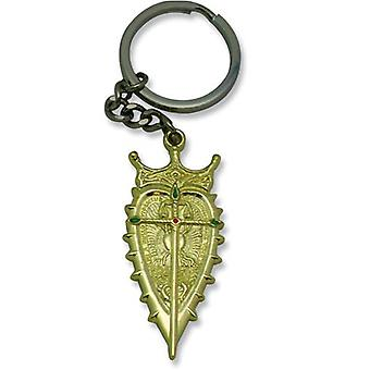 Key Chain - Gankutsuou - New Metal Crest Toys Anime Licensed ge3909