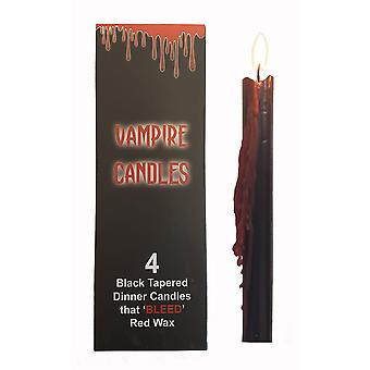 Gothic gifts - 4 tapered vampire candles