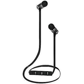 Mediacom m-hs550bt sport earphones with bluetooth microphone black color
