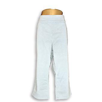 Denim & Co. Women's Plus Jeans Soft Stretch Smooth Waist Blue A307071