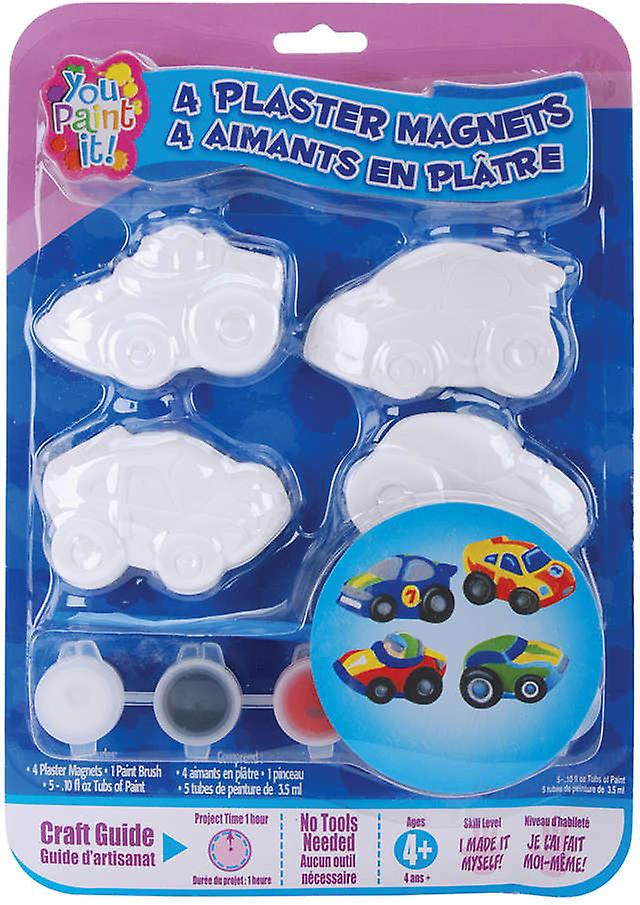 You Paint It Plaster Magnet Kits Cars Ypimagnt 57123