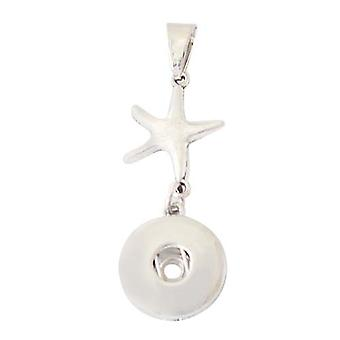 Stainless steel pendant for click buttons KB0518