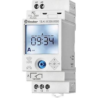 Operating voltage: 230 Vac Finder 12.A1.8.230.0000 1 change-over 16 A