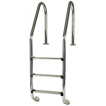 Gre Standard inground pool ladder 3 steps - Inox