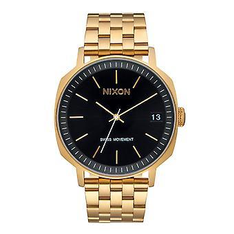 Nixon de Regent II SS Gold / Black Sunray (A9631604)