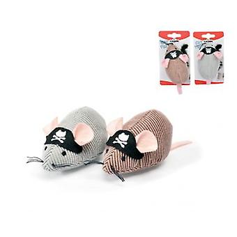 Camon Pirate mouse 10 cm (Cats , Toys , Mice)