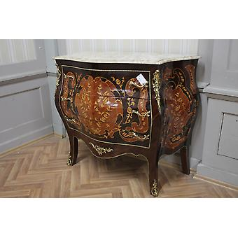 Commode baroque armoire Louis xv style antique MkKm0053Bg