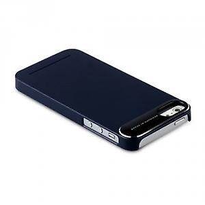Zenus ZCI5MTNB Metal Edge Cover Case Phone 5 5S navy blue