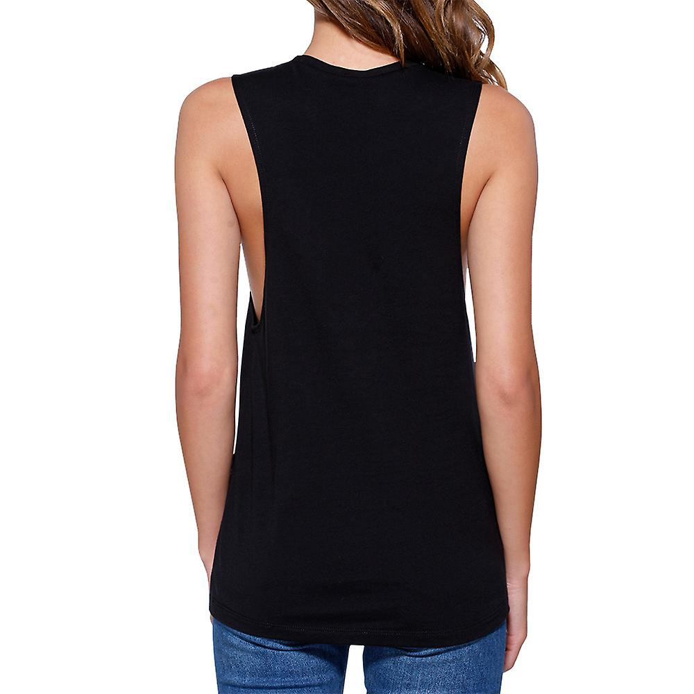 All About Them Weights Work Out Muscle Tee Gym Sleeveless Tank Top