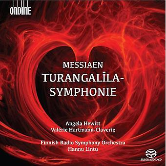 Hewitt / Hartmann-Claverie / Finnish Radio Sym - Turangalila-Symphonie [SACD] USA import