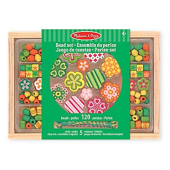 Melissa & Doug grand Flower Power perle Set 4 +