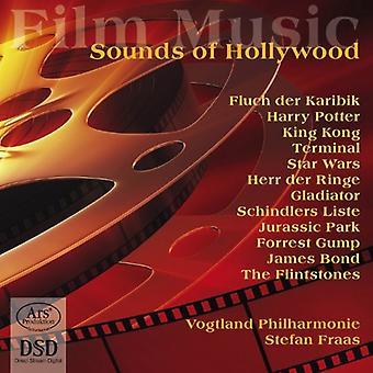 Vogtland Philharmonie - sonidos de Hollywood: importación de música de películas [SACD] Estados Unidos