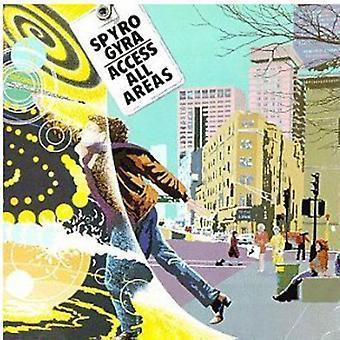 Spyro Gyra - Access All Areas [CD] USA import