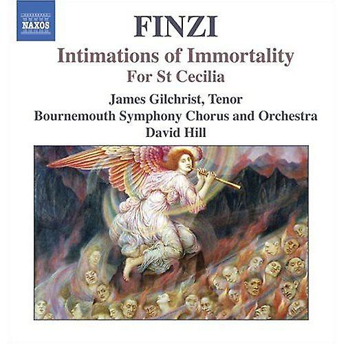 G. Finzi - Finzi: Intimations of Immortality; for st. Cecilia [CD] USA import
