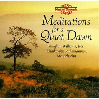 Meditations for a Quiet Dawn - Meditations for a Quiet Dawn [CD] USA import