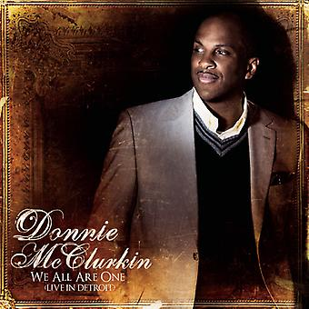 Donnie McClurkin - vi alle er ét (Live i Detroit) [CD] USA import