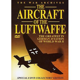 The Aircraft of the Luftwaffe [DVD] USA import
