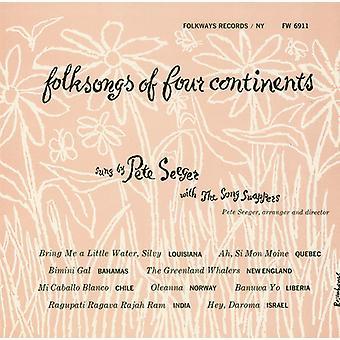 Importieren Sie Lied Swapper & Pete Seeger - Volkslieder von vier Kontinenten [CD] USA