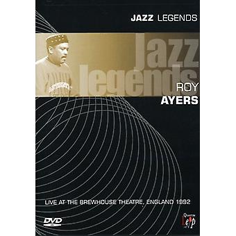 Roy Ayers - Jazz Legends-Live Brewhouse Theatre 1992 [DVD] USA import