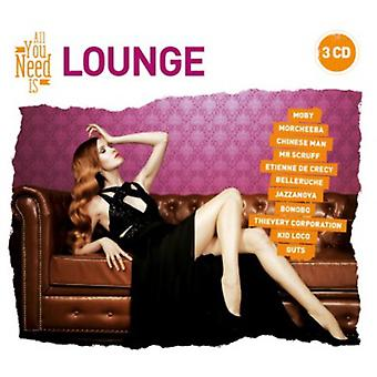 All You Need Is: Lounge - All You Need Is: Lounge [CD] USA import