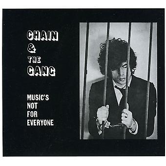 Kæde & bande - musik er ikke for alle [CD] USA import