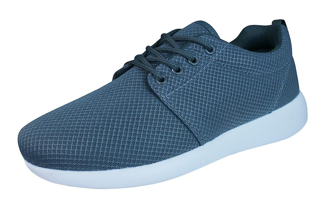 DT New York Womens Lace Up Trainers / Shoes - Grey