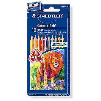 Staedtler Est.10 Lápices Col.Triplus Gru (Toys , School Zone , Drawing And Color)
