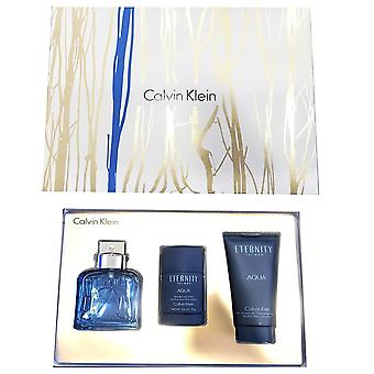 Calvin Klein Eternity Aqua Men 100ml Gift Set