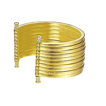 Joop women's bracelet stainless steel gold STRIPES JPBA00001B580