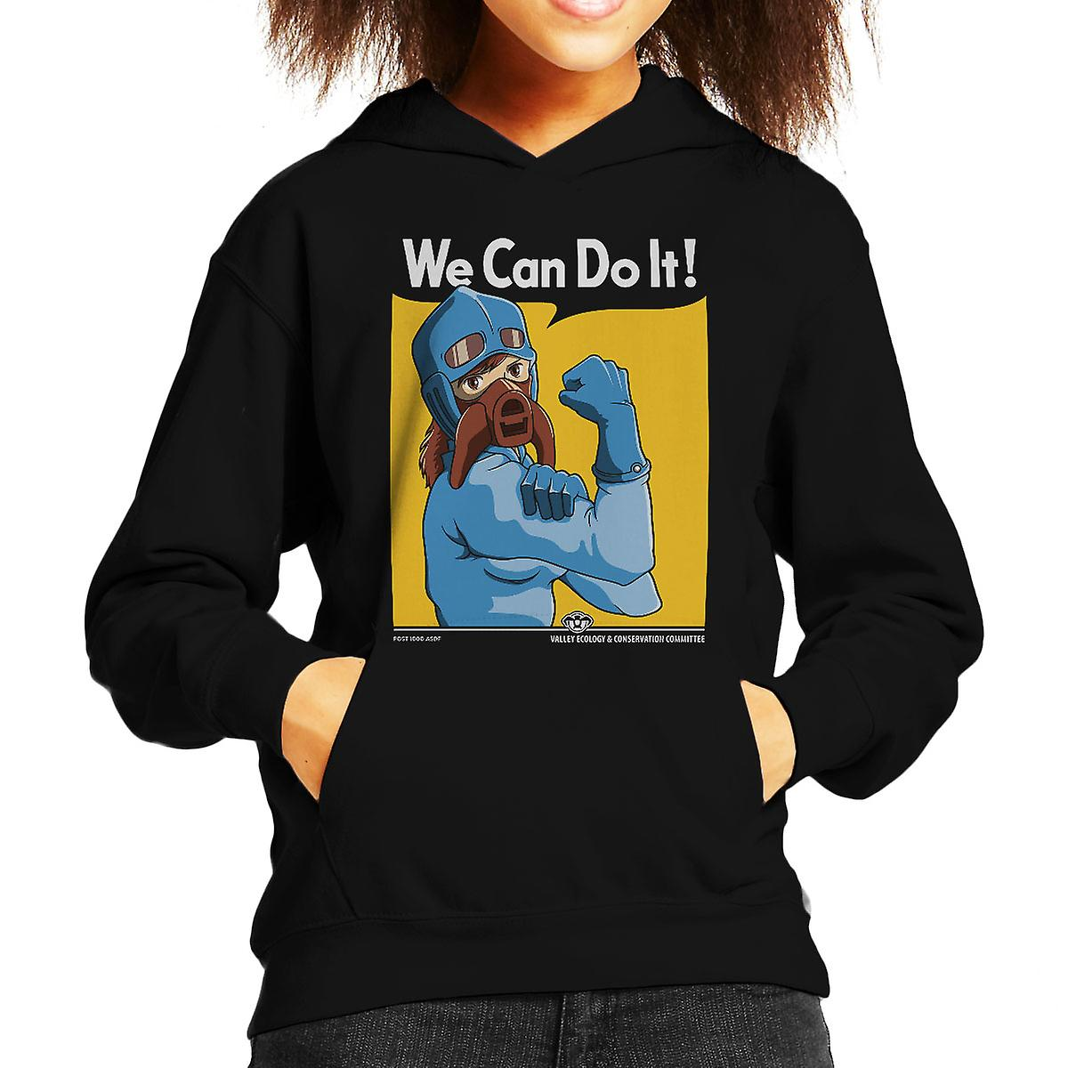 Protect The Valley Nausicaa of the Valley of the Wind Kid's Hooded Sweatshirt