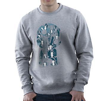 Kodama Forrest Princess Mononoke Studio Ghibli Men's Sweatshirt