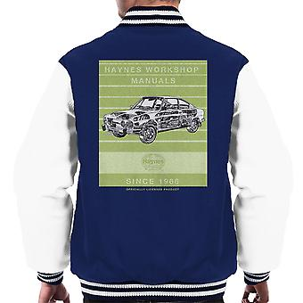 Haynes Workshop Manual 0303 Skoda 110R Stripe Men's Varsity Jacket