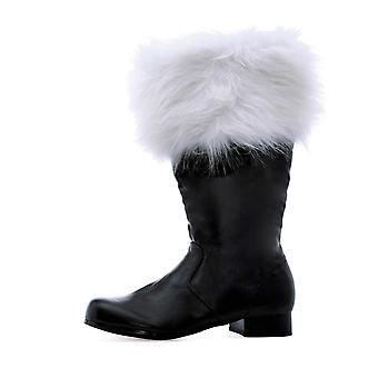 Ellie Shoes E-121-Nick 1 Heel Boot With Fur