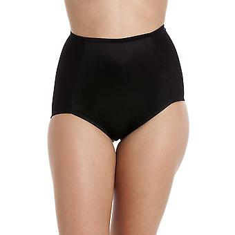 Camille  Full Support Black Shapewear Control Briefs