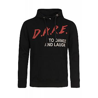 SOMeWEaR pullover mens hooded sweater black D.A.R.E