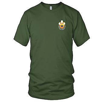 US Army - 451st Chemical Battalion Embroidered Patch - Mens T Shirt