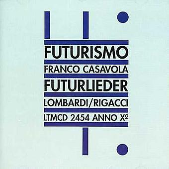 Franco Casavola - Futurlieder [CD] USA importerer
