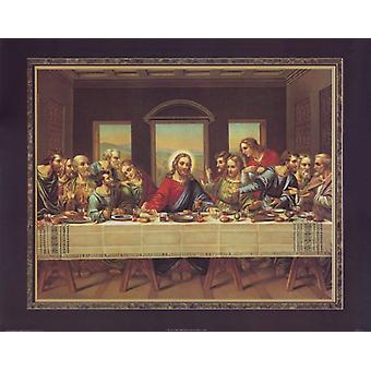 The Last Supper Poster Print by Thomas L Cathey Collection (28 x 22)