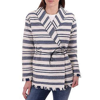 Maison Scotch Summer Throw On Striped Jacket
