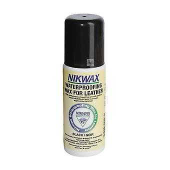 Nikwax Waterproofing Wax For Leather - Sponge On Black 125ml