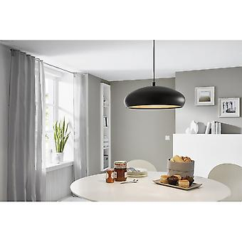 Eglo MOGANO Black Bubble Pendant Lamp