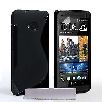 Caseflex HTC Explorer Gel S-Line caja - negro