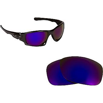 Best SEEK Polarized Replacement Lenses for Oakley Sunglasses TEN Purple Mirror