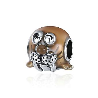 Sterling silver charm Lovely walrus SCC331