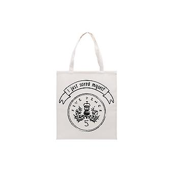 CGB Giftware Totes Amaze I Just Saved Myself 5p Tote Bag