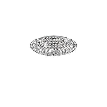 Ideal Lux - King Extra Large Chrome Flush Idl073255