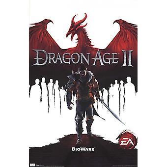 Dragon Age 2 - Spiel Cover Poster drucken
