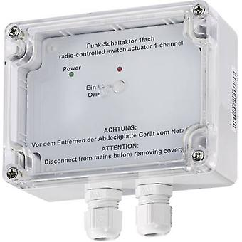 HomeMatic Wireless switch 76795 1-channel Surfac